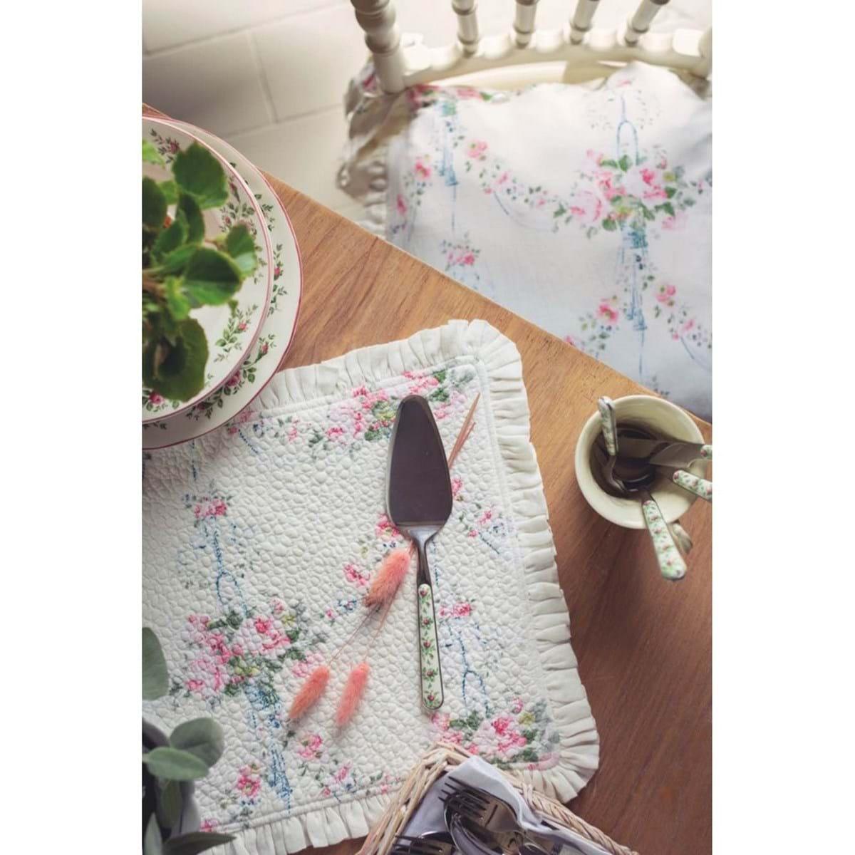 Tovaglietta americana floreale in cotone