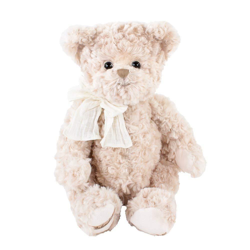 Peluche orsetto Pierrot con fiocco bianco