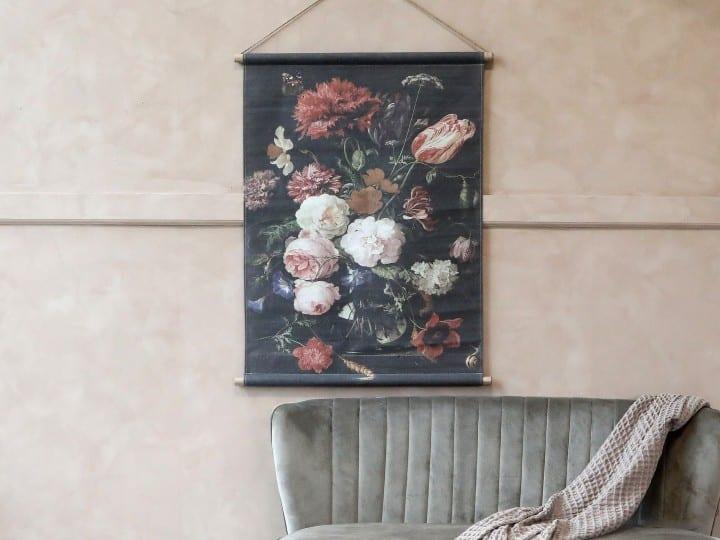 Tela da appendere con stampa floreale