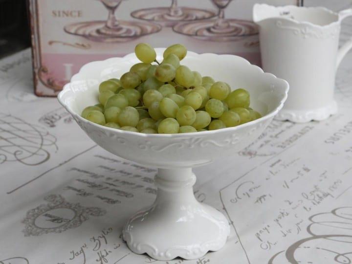 Porta frutta o dessert con piedistallo