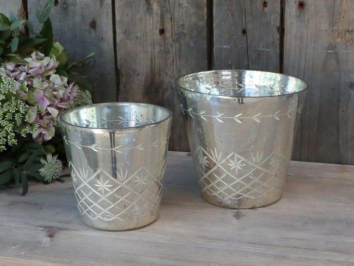 Vaso per piante in vetro – Piccolo