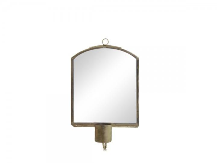 Specchio da parete con porta candele – Piccolo