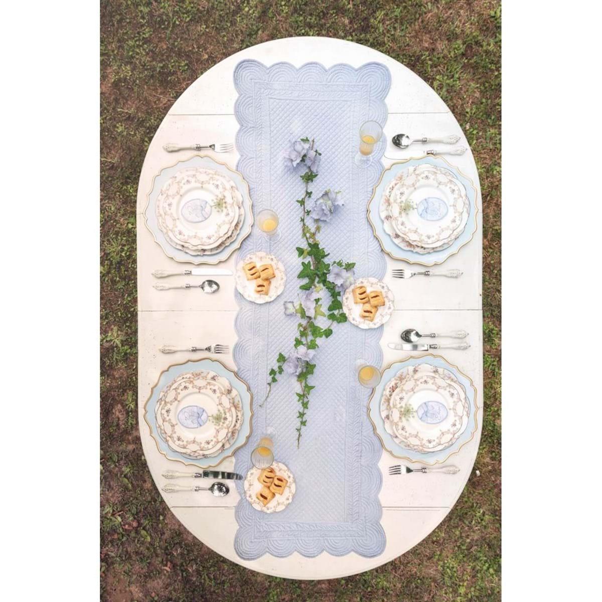 Piatto fondo in porcellana – Floreale
