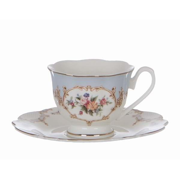 Tazza da caffé in porcellana – Floreale