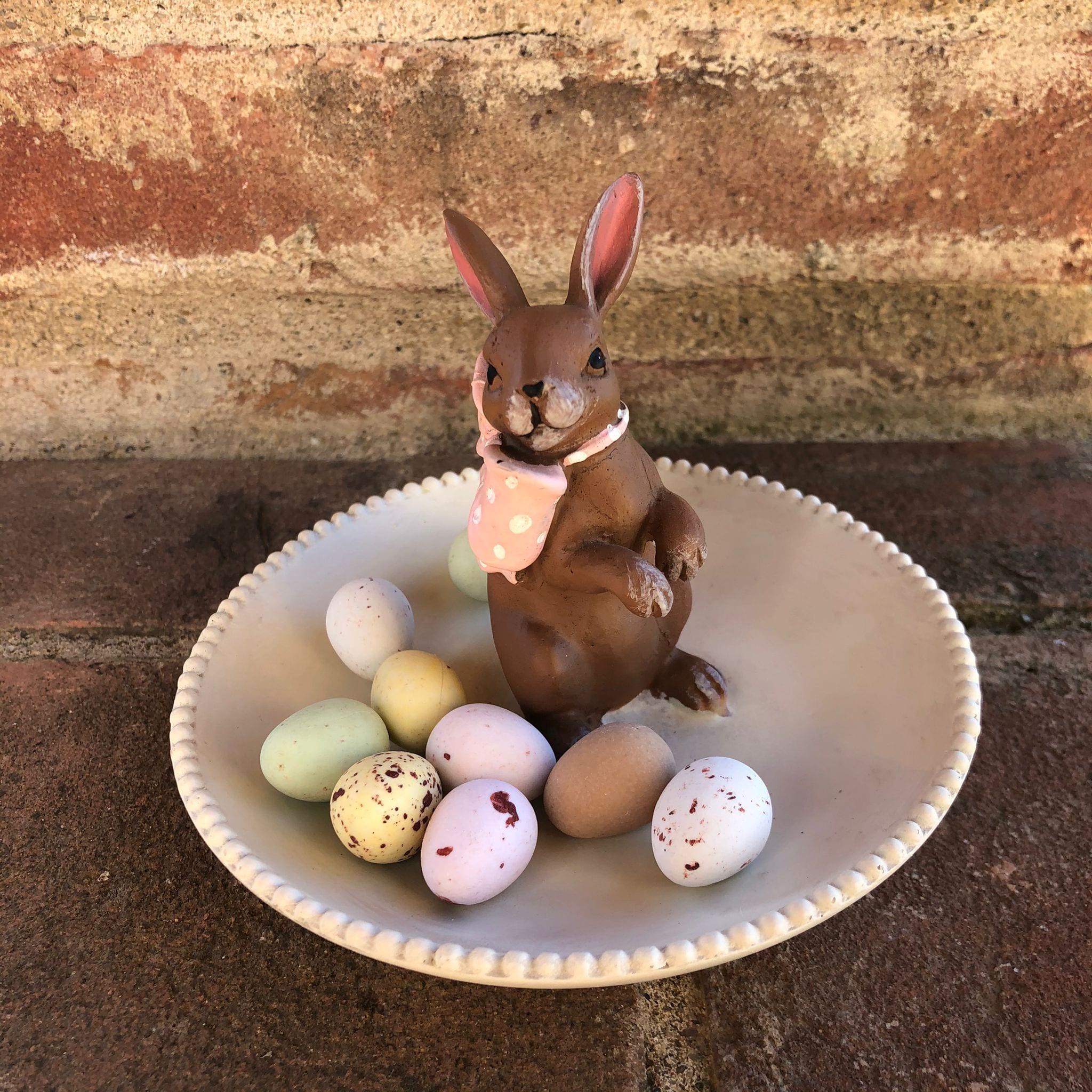 Coppetta porta oggetti con coniglietto