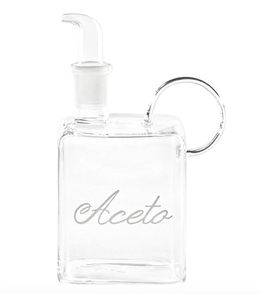 Bottiglia 400ml decoro Aceto
