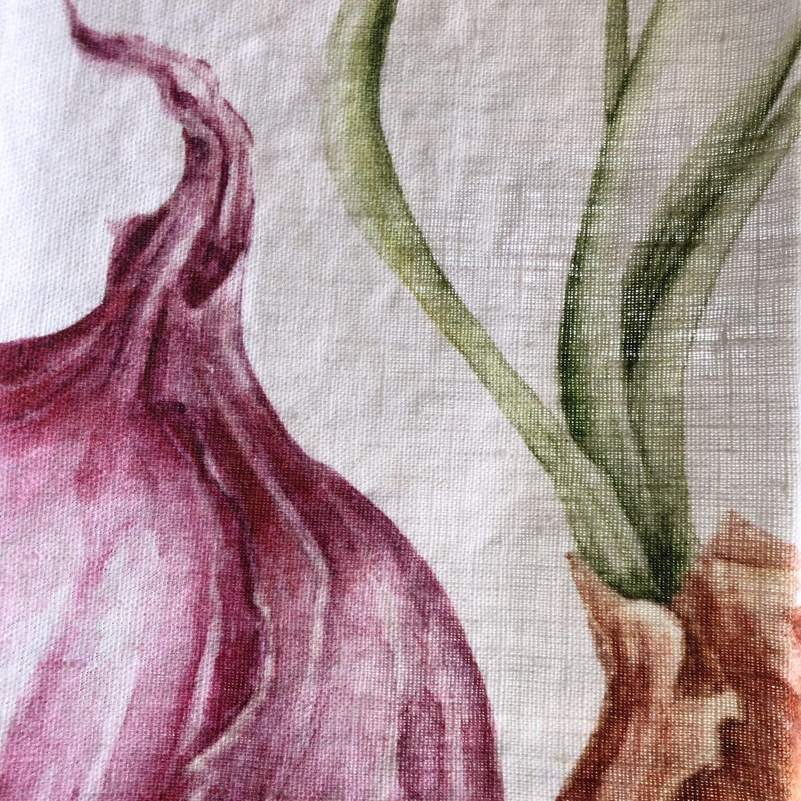 Canovaccio in lino – cipolle
