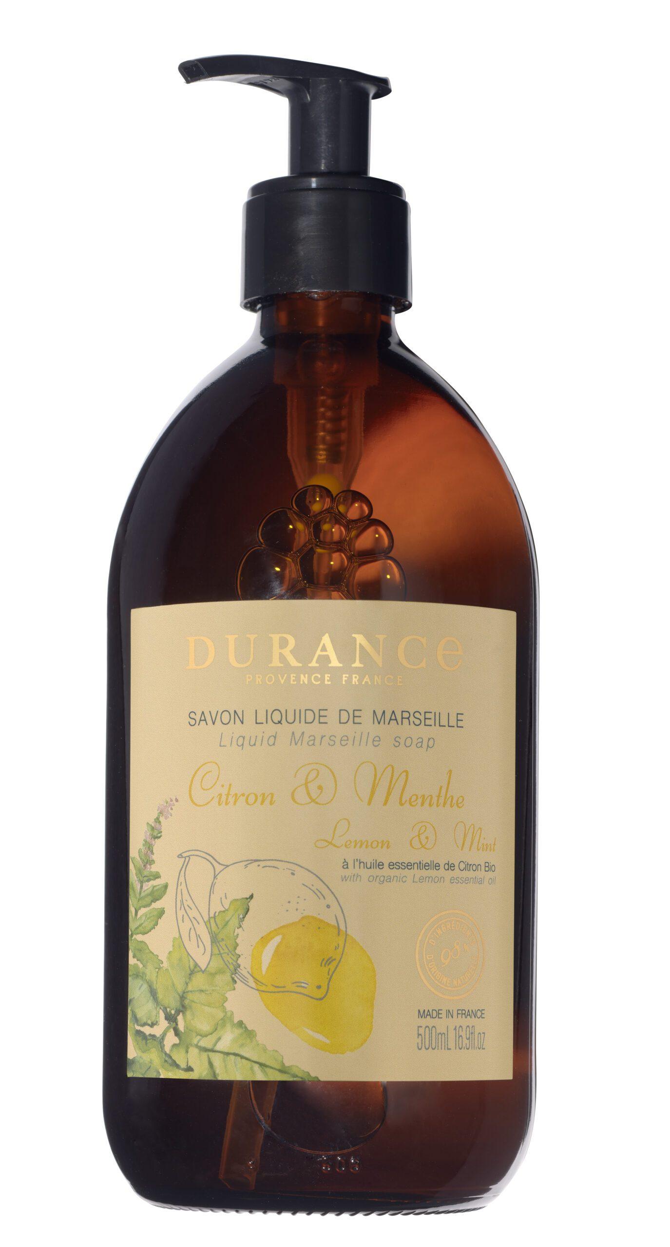 Sapone liquido di Marsiglia – Limone e Menta