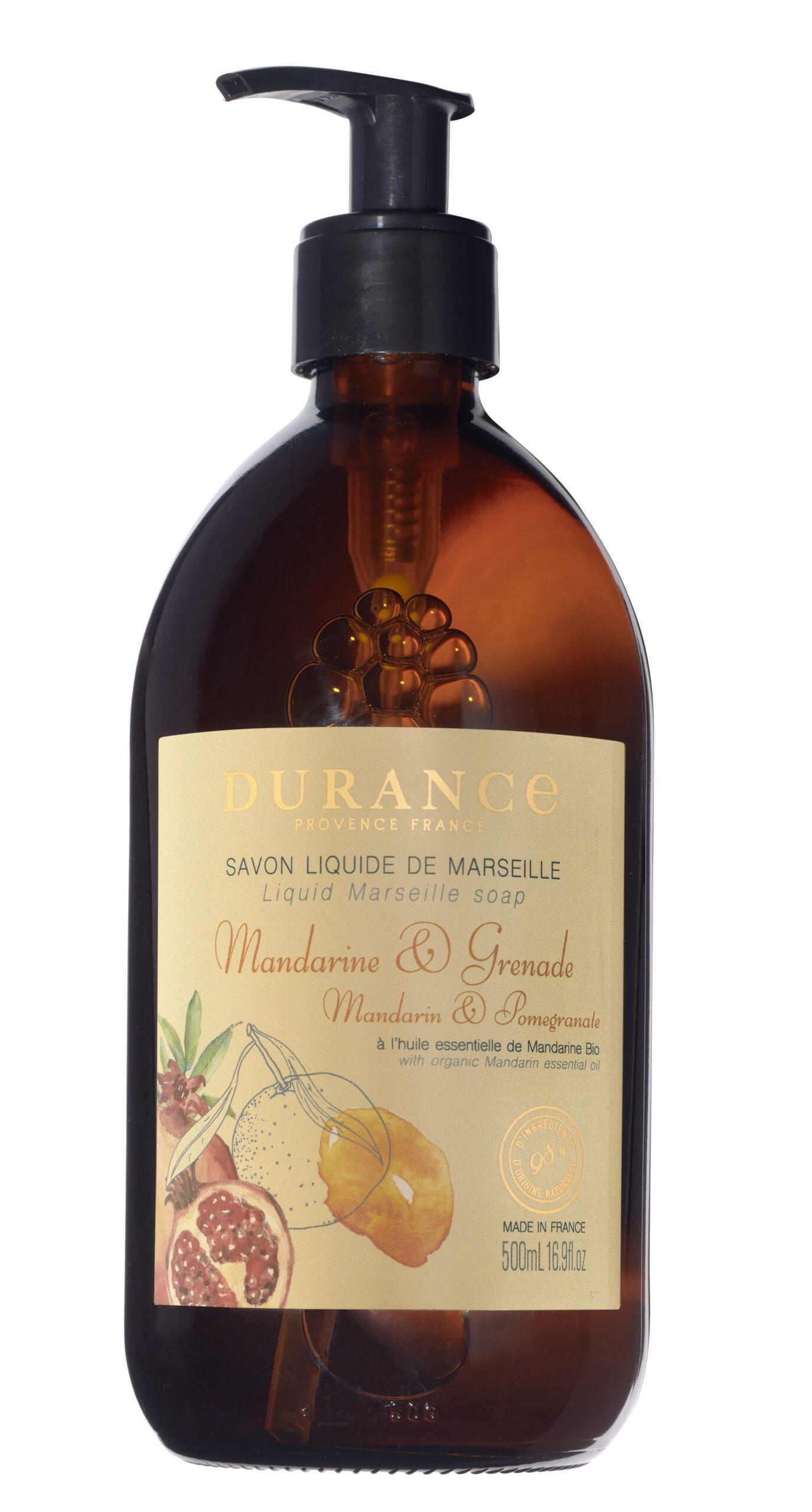 Sapone liquido di Marsiglia-Mandarino&Melograno