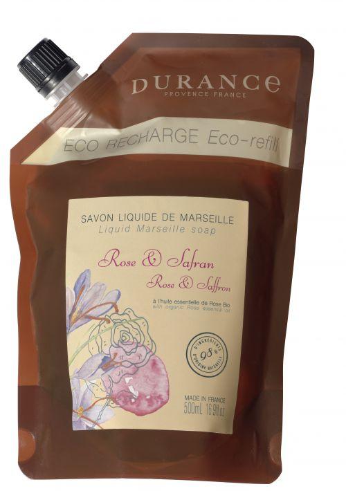 Ricarica Sapone liquido – Rosa e Zafferano