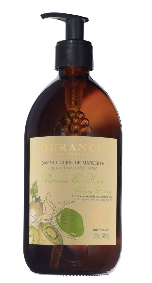 Sapone liquido di Marsiglia – Rosa e Zafferano